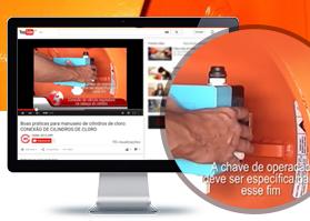 Canal do Cloro traz vídeo sobre manuseio de cilindros de cloro. Assista!