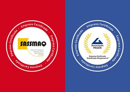 Importância dos selos PRODIR e SASSMAQ.