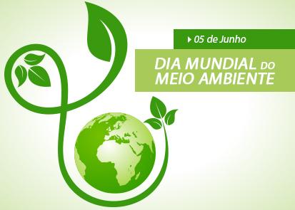 Dia Mundial do Meio Ambiente.